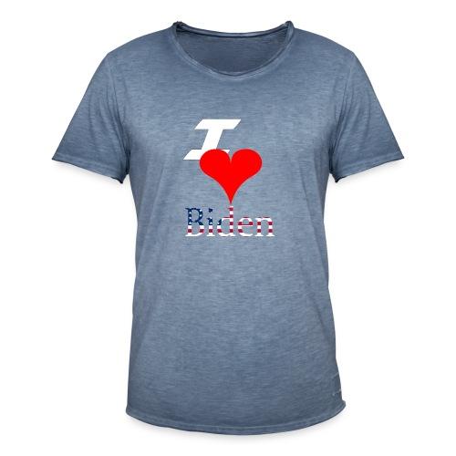 I love Biden - Mannen Vintage T-shirt
