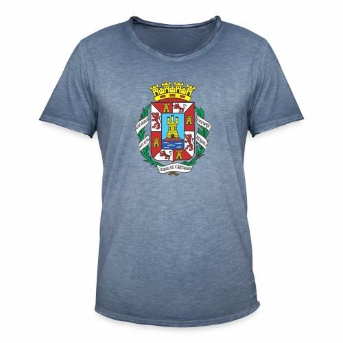 Escudo Cartagena - Camiseta vintage hombre