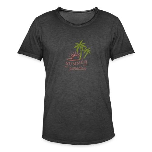 Summer paradise - Men's Vintage T-Shirt