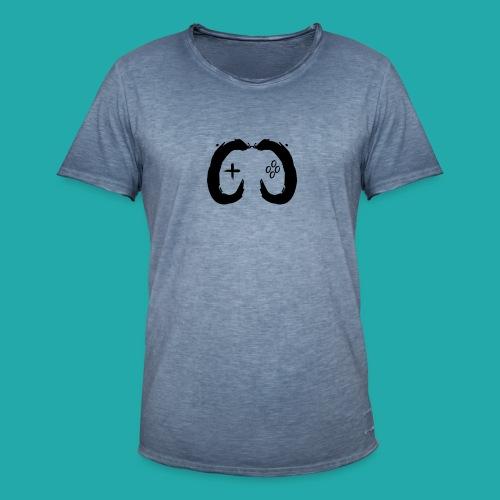 Crowd Control Controller Logo Black Large - Men's Vintage T-Shirt