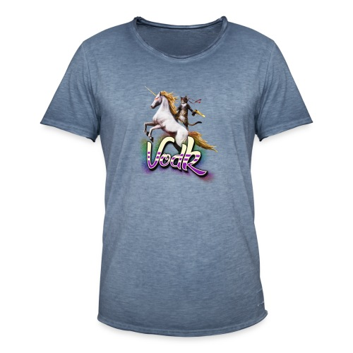 VodK licorne png - T-shirt vintage Homme