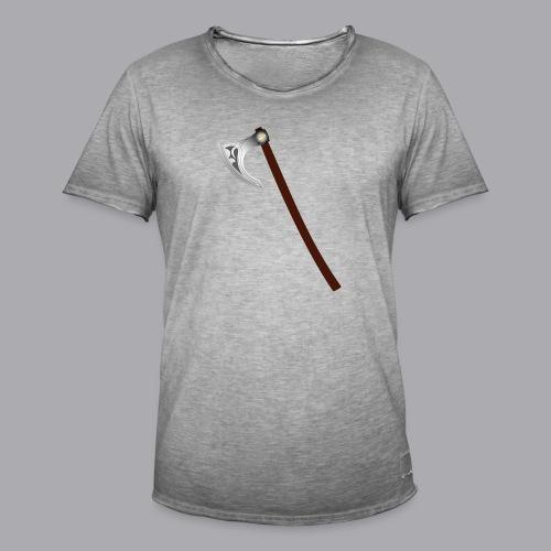 Wikinger Beil - Männer Vintage T-Shirt