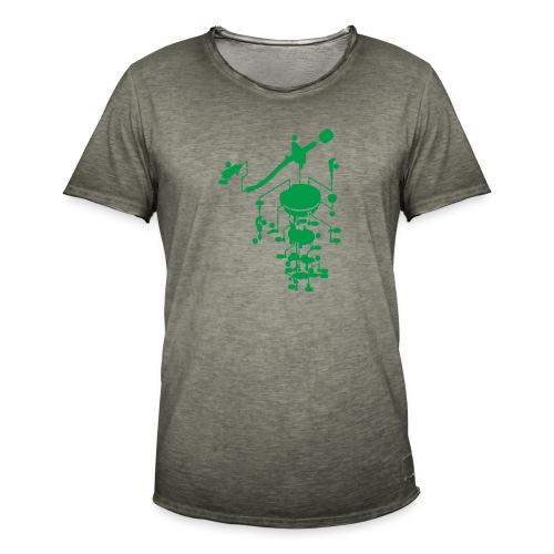 tonearm05 - Mannen Vintage T-shirt