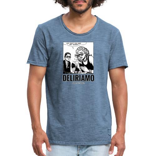 Why Don't You Have Any Techno? - Maglietta vintage da uomo
