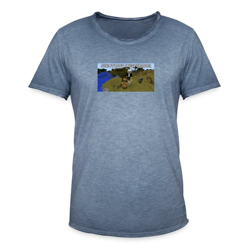 minecraft - Men's Vintage T-Shirt