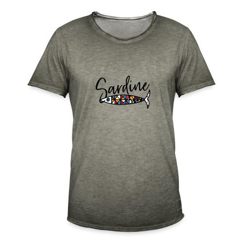 Sardine colorate all'amo - Maglietta vintage da uomo