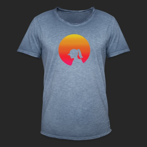 Gradient Girl - Men's Vintage T-Shirt