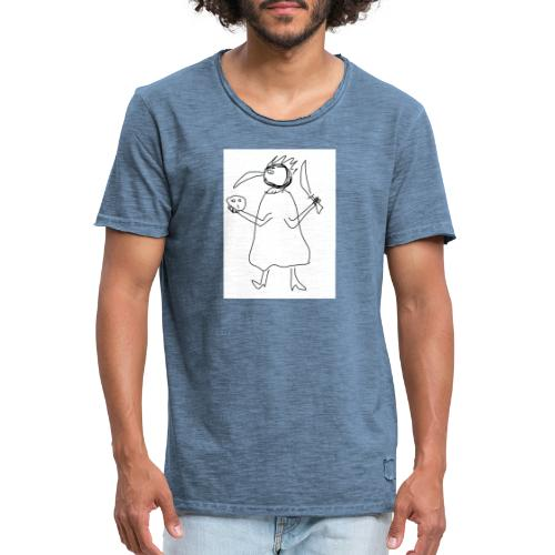 The Plague Master - Männer Vintage T-Shirt