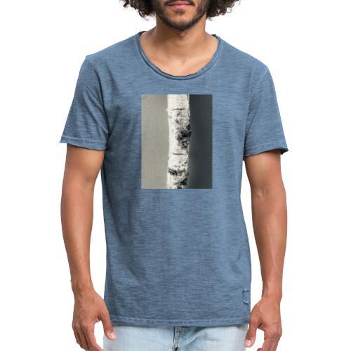 Birken Stamm - Männer Vintage T-Shirt