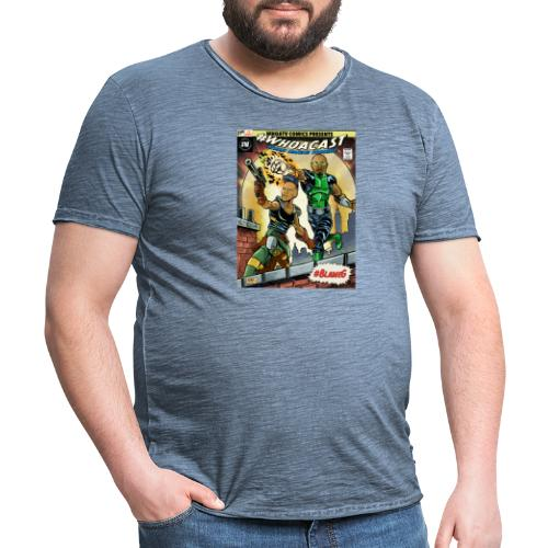 WHOACAST - Men's Vintage T-Shirt