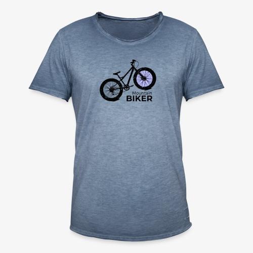 Mountain Biker - Männer Vintage T-Shirt