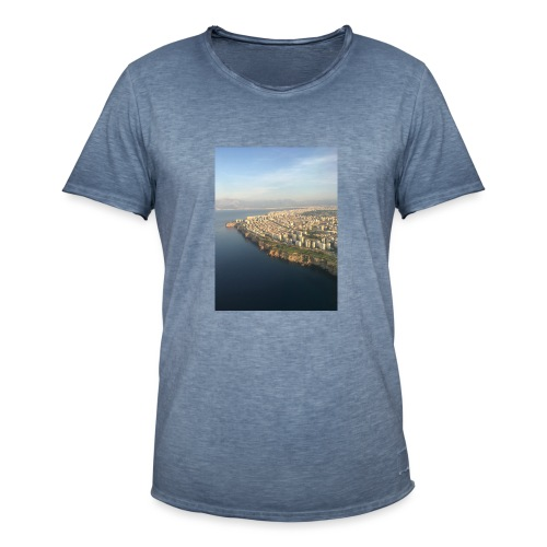 Türkei von oben - Männer Vintage T-Shirt