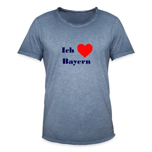 Bayern - Männer Vintage T-Shirt