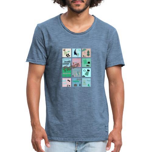 Fashionlover - Männer Vintage T-Shirt