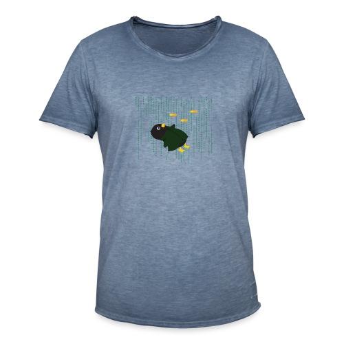 Pingouin Bullet Time - T-shirt vintage Homme