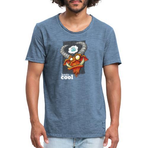 keep Cool - Männer Vintage T-Shirt