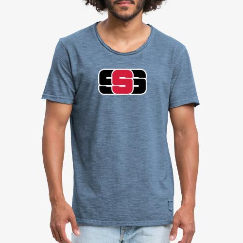 Solution sonore solide - T-shirt vintage Homme