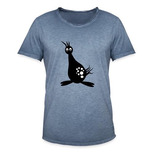 monster vogel - Mannen Vintage T-shirt