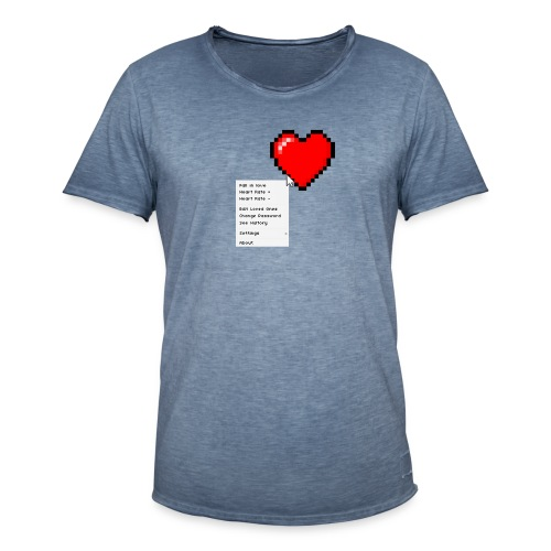 Options of the heart - Herre vintage T-shirt