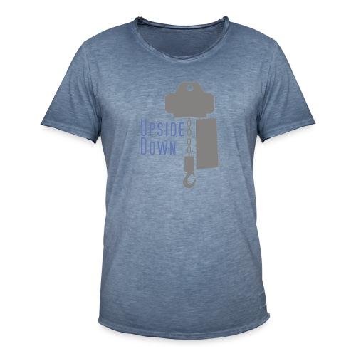 upside down - Männer Vintage T-Shirt
