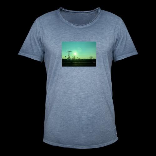 pollution - Mannen Vintage T-shirt