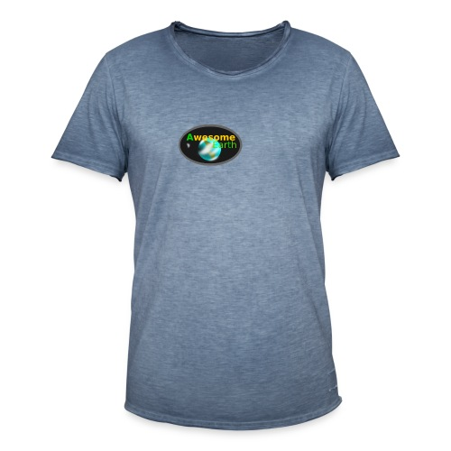 awesome earth - Men's Vintage T-Shirt