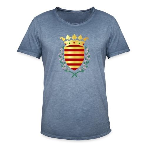 Wapenschild Borgloon - Mannen Vintage T-shirt