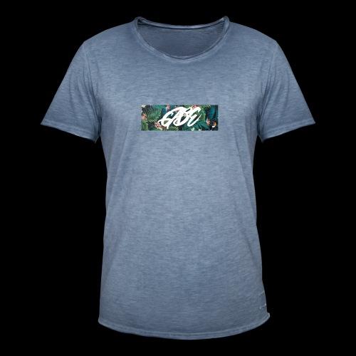 GABE FLOW - Männer Vintage T-Shirt