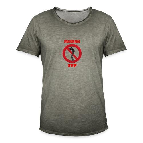 Pas sur moi ! - T-shirt vintage Homme