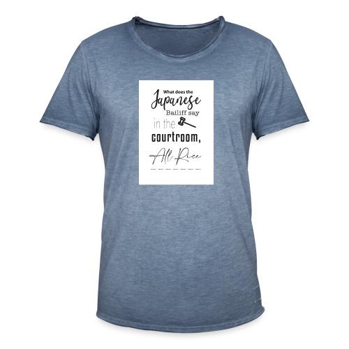 All Rise - Men's Vintage T-Shirt