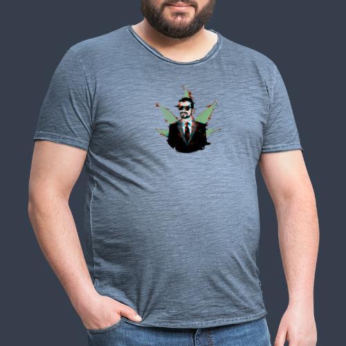 Linaras Hacked Design - Men's Vintage T-Shirt