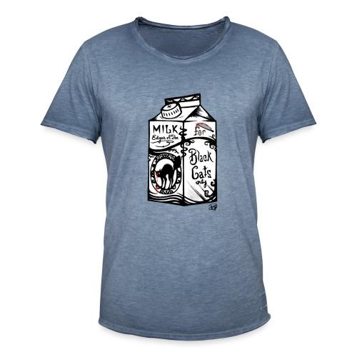 Il Latte di Edgar Allan Poe! - Maglietta vintage da uomo
