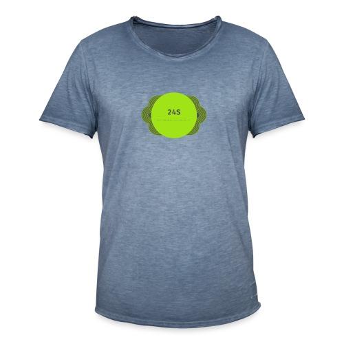 The Official 24S Logo - Men's Vintage T-Shirt