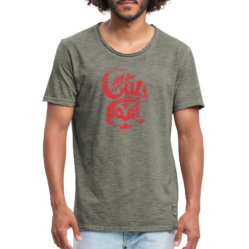 All the cats love me - Männer Vintage T-Shirt