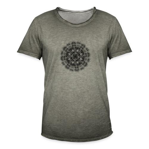Flower mix - Koszulka męska vintage
