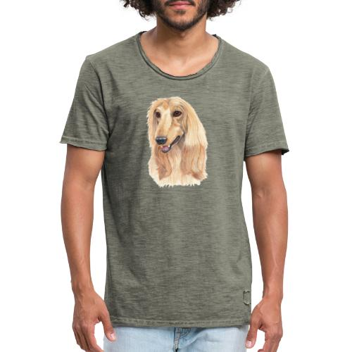 afghanskMynde- A - Herre vintage T-shirt