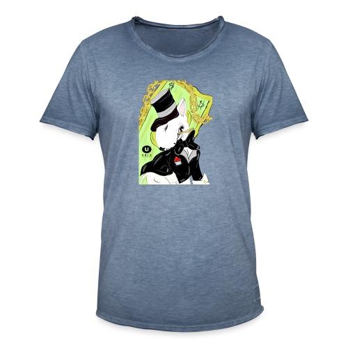 MAFIA BULL TERRIER - Maglietta vintage da uomo