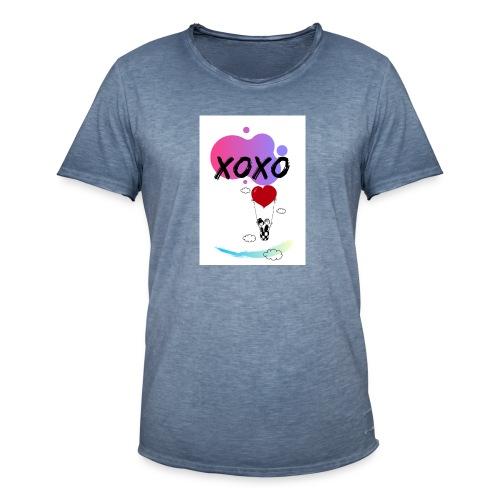 loveintheair - Camiseta vintage hombre