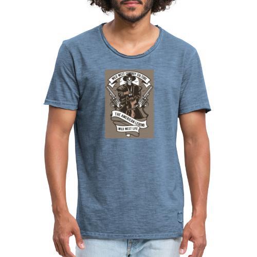 Wild West Cowboy - T-shirt vintage Homme