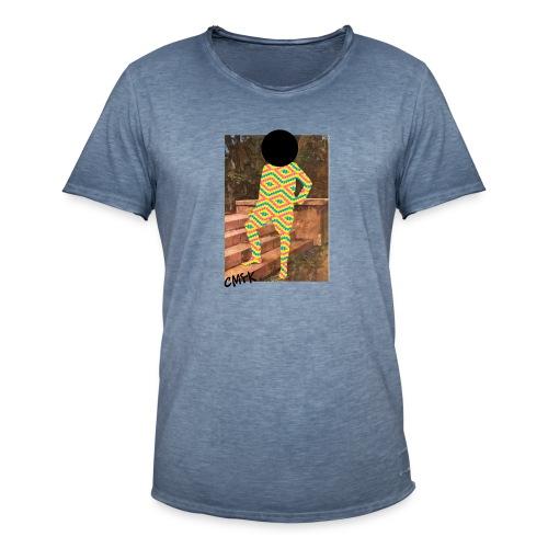 Cmyk - Männer Vintage T-Shirt