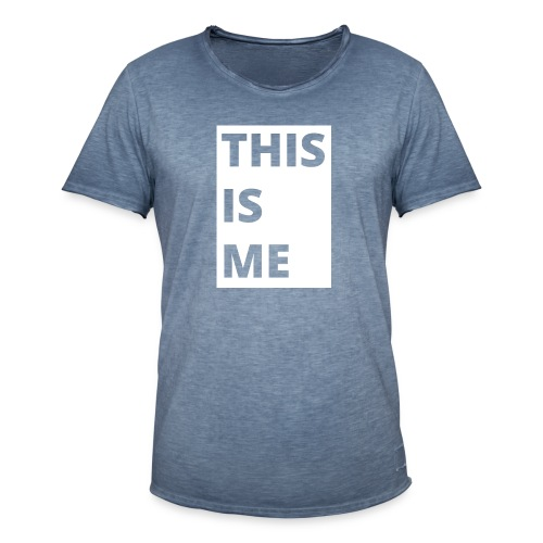 This is me - Vintage-T-shirt herr