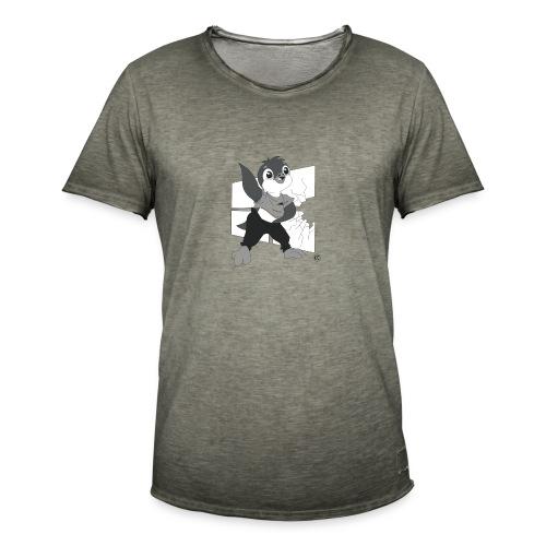 Le pingouin de Nice - T-shirt vintage Homme