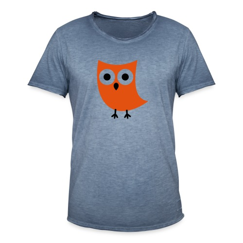 Uiltje - Mannen Vintage T-shirt