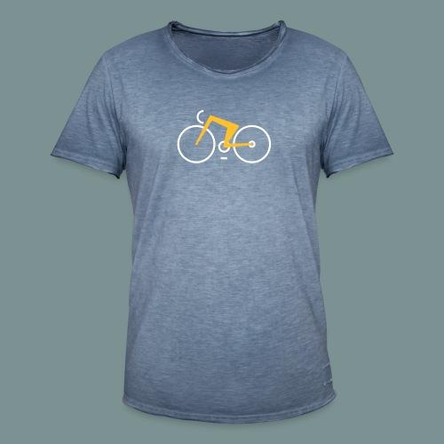 Bikes against cancer - Herre vintage T-shirt