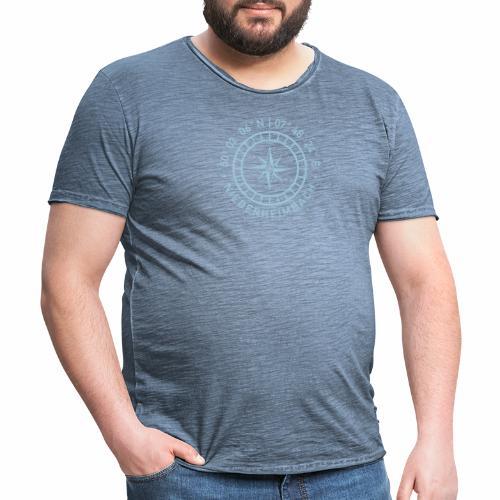 Niederheimbach – Kompass - Männer Vintage T-Shirt