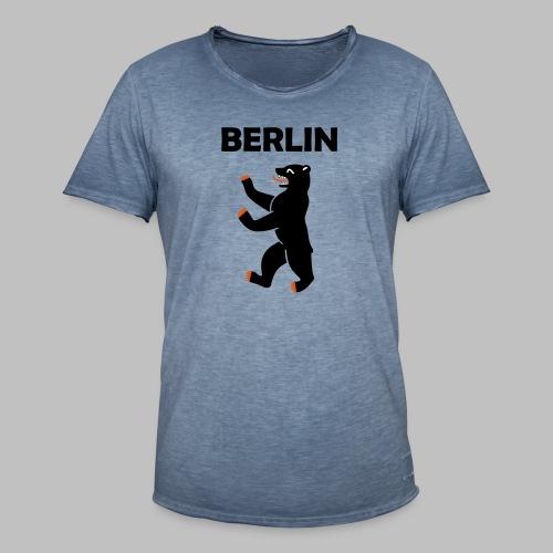 BERLIN - Berliner Bär (Vektor) - Männer Vintage T-Shirt