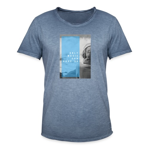 Only Music - Mannen Vintage T-shirt