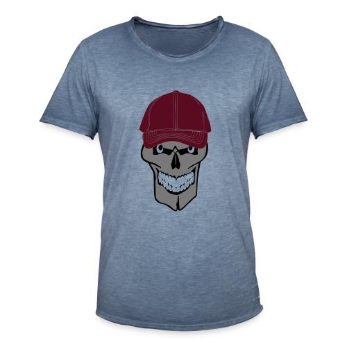 craneo gorra - Camiseta vintage hombre