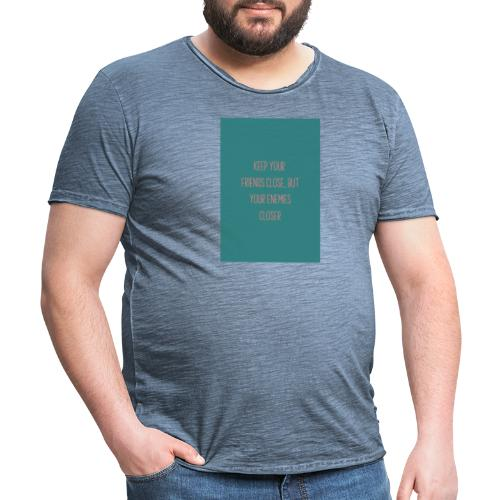 ctf 141581 triangle - Camiseta vintage hombre
