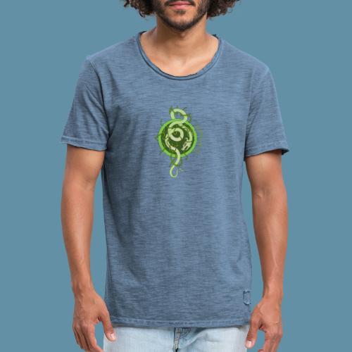 Jormungand logo png - Maglietta vintage da uomo